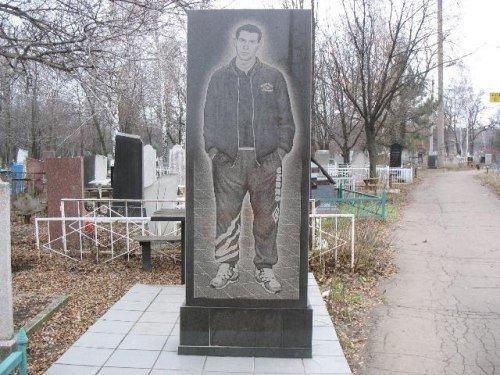 Cementerio ruso enterrado en chandal