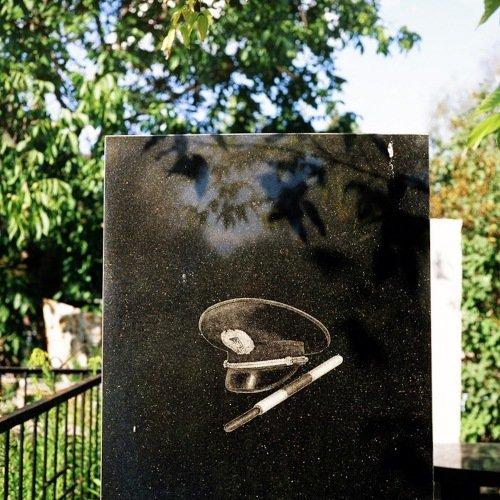 Cementerio ruso guardia trafico