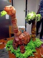 Dinosaurio bacon