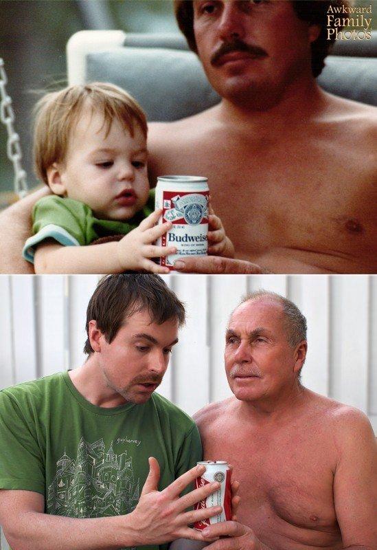 Buenas costumbres con la Budweiser