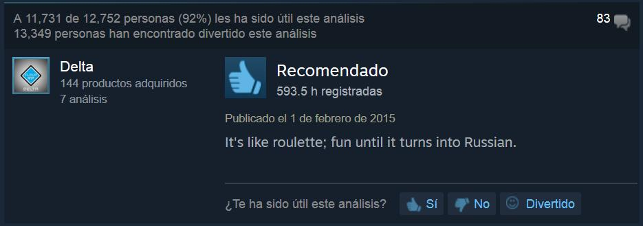 Counter Strike ruleta rusa