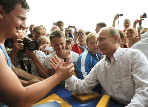 Putin echando un pulso