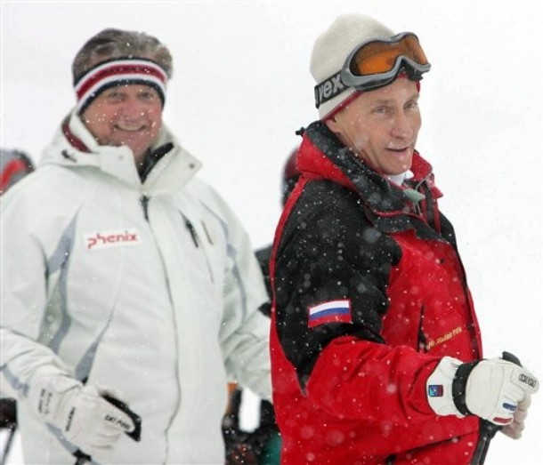 Putin ski de fondo