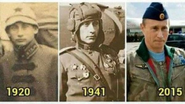 Putin inmortal