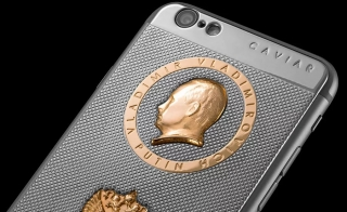 Iphone de oro de Putin