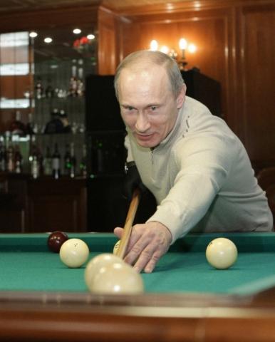 Putin billar
