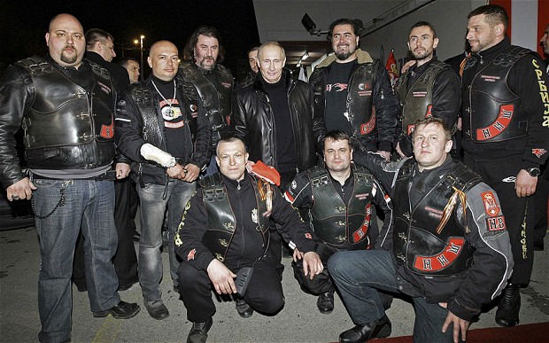 Putin Night Wolves