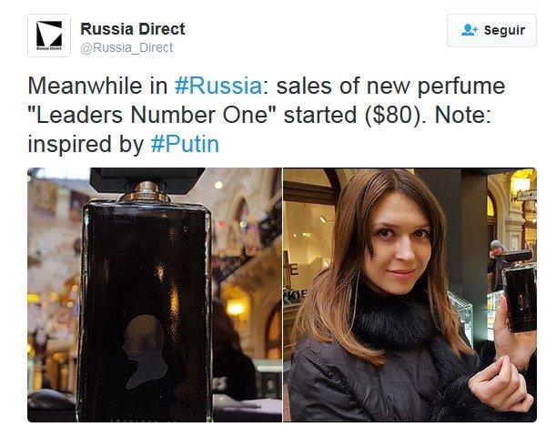 Perfume de Putin