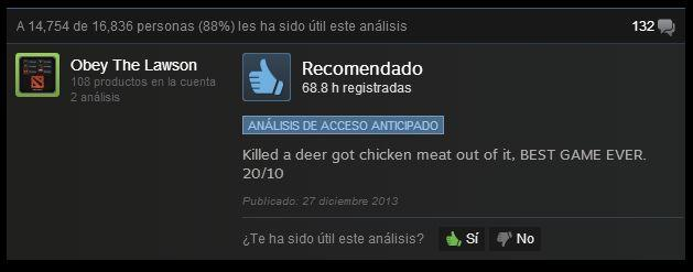 Rust comentario divertido steam