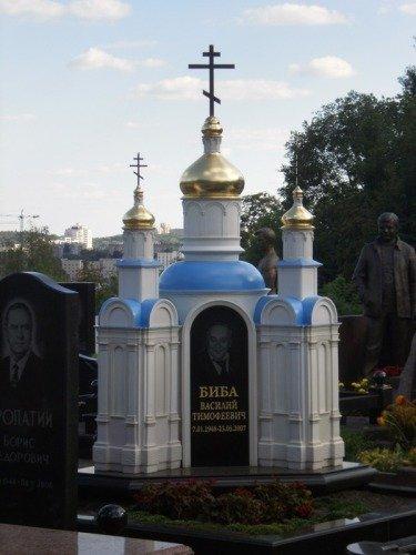 Cementerio ruso mausoleo