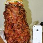 Hamburguesa gigante bacon