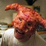Máscara skyrim bacon