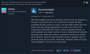 GTA V pc comentario steam divertido