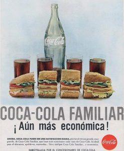 Publicidad antigua Coca Cola España 1965