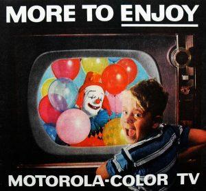 Publicidad antigua televisores