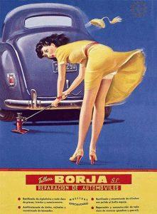 Publicidad machista reparación coche