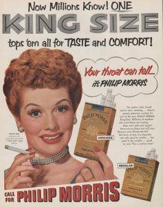 Publicidad philip morris retro