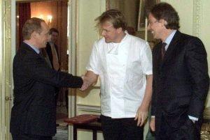 Putin y Gordon Ramsay