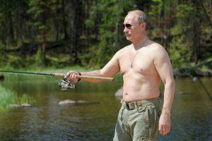 Putin pescando