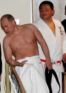 Putin kimono