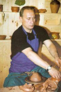 Putin alfarero