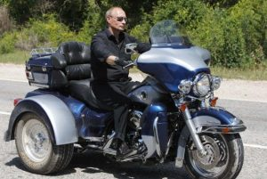 Putin en moto
