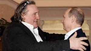 Vladimir Putin y Gerard Depardieu