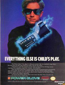 publicidad nintendo power glove