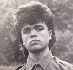 Peter Dinklage joven